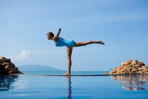 infinity blue yoga